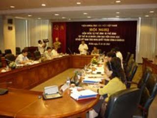 Viện Khoa học xã hội Việt Nam kiểm điểm, phê bình và tự phê bình theo nội dung Nghị quyết Trung ương 4 (khóa XI)