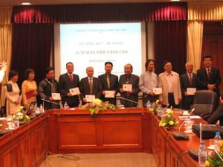 Lễ Tổng kết – bế giảng lớp Hán Nôm nâng cao niên khóa 2010-2012