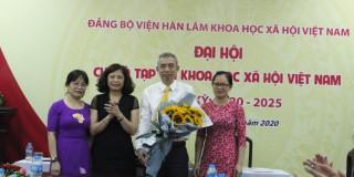 Đại hội Chi bộ Tạp chí Khoa học xã hội Việt Nam nhiệm kỳ 2020 -2025