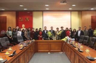 Lễ Công bố và trao Quyết định điều động và bổ nhiệm Phó Giám đốc phụ trách Nhà Xuất bản Khoa học xã hội