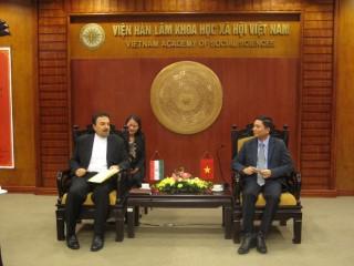 Chủ tịch Bùi Nhật Quang tiếp Đại sứ Nước Cộng hòa Hồi giáo Iran tại Việt Nam – Tiến sỹ Saleh Adibi