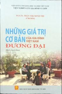 Những giá trị cơ bản của gia đình Việt Nam đương đại