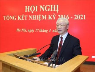 Toàn văn bài phát biểu của Tổng Bí thư Nguyễn Phú Trọng tại Hội nghị tổng kết công tác nhiệm kỳ 2016-2021 của Hội đồng Lý luận Trung ương