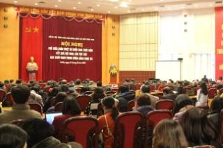 Hội nghị phổ biến, quán triệt và triển khai thực hiện kết quả Hội nghị lần thứ sáu, Ban Chấp hành Trung ương Đảng khoá XII