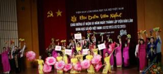 Hội diễn văn nghệ chào mừng 60 năm thành lập Viện Hàn lâm Khoa học xã hội Việt Nam (2/12/1953 -2/12/ 2013)