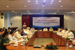 """Hội nghị Thông báo Dân tộc học năm 2016 """"Một số vẩn để cơ bản, cấp bách của các dân tộc ở Việt Nam hiện nay: Lý luận và thực tiễn"""""""