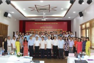 Hội thảo xây dựng phong cách, tác phong công tác của người đứng đầu, của cán bộ, đảng viên ở Viện Hàn lâm Khoa học xã hội Việt Nam trong học tập và làm theo tư tưởng, đạo đức, phong cách Hồ Chí Minh