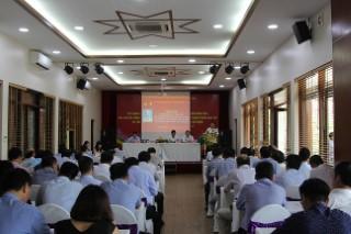 Hội nghị Sơ kết công tác Đảng bộ Viện Hàn lâm Khoa học xã hội Việt Nam giữa nhiệm kỳ 2015-2020 và phổ biến, quán triệt và triển khai thực hiện Nghị quyết Hội nghị lần thứ bảy Ban Chấp hành Trung Đảng khóa XII.