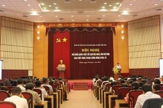 Hội nghị phổ biến, quán triệt kết quả Hội nghị lần thứ V Ban chấp hành Trung ương Đảng khóa XII