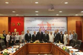 """Hội thảo """"Quan hệ Việt Nam – Hoa Kỳ: 25 năm Hợp tác và Phát triển"""""""