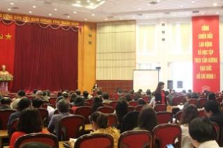 Hội nghị Tập huấn công tác Đại hội Đảng các cấp trong Đảng bộ Viện Hàn lâm Khoa học xã hội Việt Nam nhiệm kỳ 2020-2025/ 2020-2022
