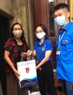 Tuổi trẻ Đoàn Viện Hàn lâm Khoa học xã hội Việt Nam phát huy vai trò xung kích, tình nguyện trong giai đoạn dịch bệnh Covid-19