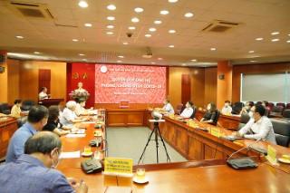 Viện Hàn lâm Khoa học xã hội Việt Nam chung tay quyên góp, ủng hộ phòng, chống dịch Covid-19