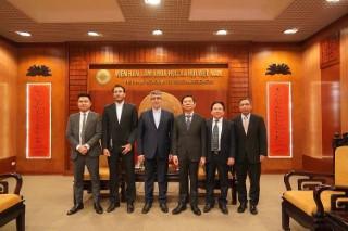 Chủ tịch Viện Hàn lâm Khoa học xã hội Việt Nam tiếp Ngài Akbar Nazari, Đại sứ Cộng hòa Hồi giáo Iran tại Việt Nam