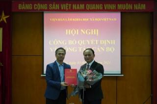 Lễ Công bố và trao Quyết định bổ nhiệm Tổng biên tập Tạp chí Nghiên cứu Đông Nam Á