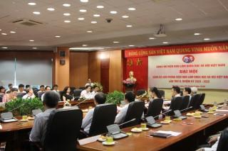 Đại hội Đảng bộ Văn phòng Viện Hàn lâm KHXH Việt Nam
