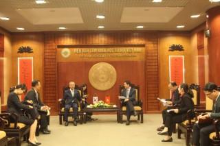 Chủ tịch Bùi Nhật Quang tiếp Đại sứ Hàn Quốc tại ASEAN - ông Lim Sungnam
