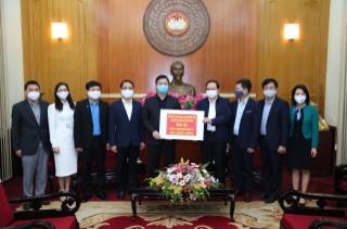 Viện Hàn lâm Khoa học xã hội Việt Nam (VASS) chung tay ủng hộ phòng chống dịch Covid-19