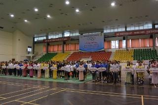 Giải thể thao chào mừng Ngày Khoa học và Công nghệ Việt Nam