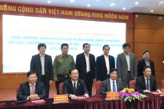 Lễ ký kết Chương trình phối hợp giữa Chương trình KH&CN phục vụ xây dựng nông thôn mới và các Chương trình KH&CN Tây Bắc, Tây Nguyên, Tây Nam Bộ