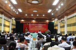 Hội nghị Sơ kết 6 tháng đầu năm, triển khai nhiệm vụ 6 tháng cuối năm 2017 và Hội thảo học tập làm theo tư tưởng, đạo đức, phong cách Hồ Chí Minh nói đi đôi với làm, gắn lý luận với thực tiễn ở Viện Hàn lâm Khoa học xã hội Việt Nam