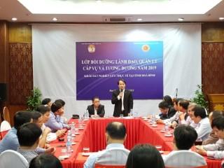 Lớp bồi dưỡng lãnh đạo, quản lý cấp vụ và tương đương của Viện Hàn lâm Khoa học xã hội Việt Nam đi khảo sát, nghiên cứu thực tế tại tỉnh Hòa Bình